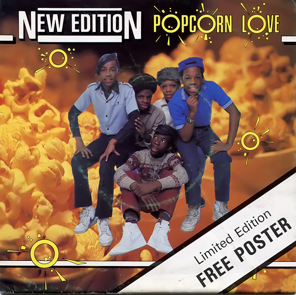New Edition - Popcorn Love (Poster Sleeve)