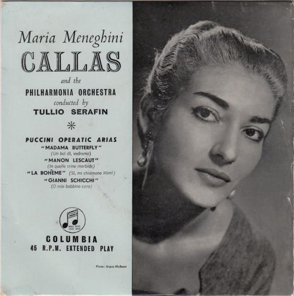 Maria Meneghini Callas - Puccini Operatic Arias