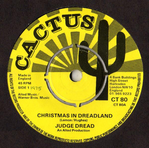 Judge Dread - Christmas In Dreadland