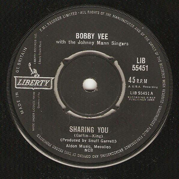 Bobby Vee With The Johnny Mann Singers - Sharing You