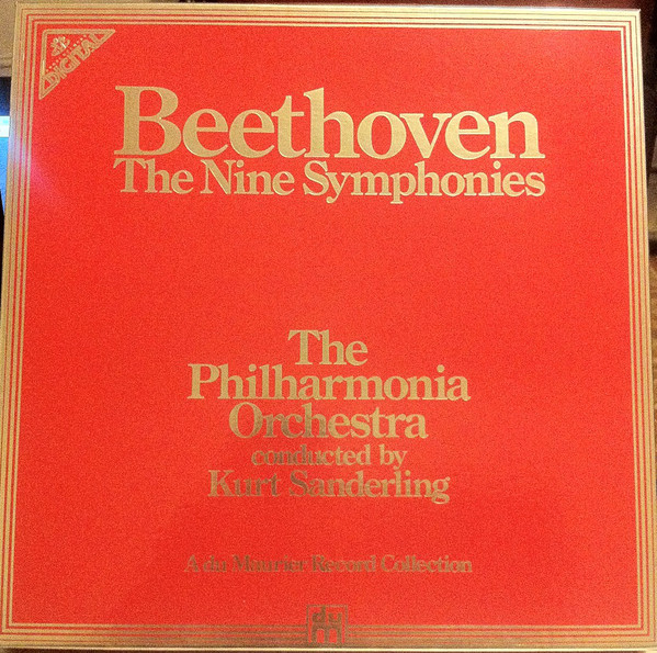 Beethoven - Philharmonia - Kurt Sanderling - The Nine Symphonies