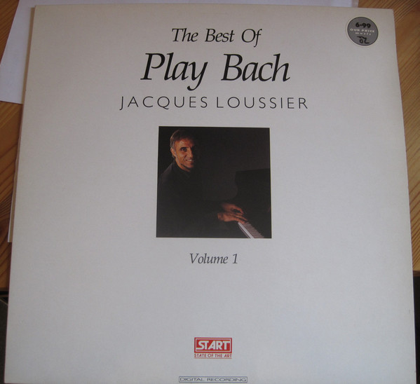 Jacques Loussier - The Best Of Play Bach Volume 1