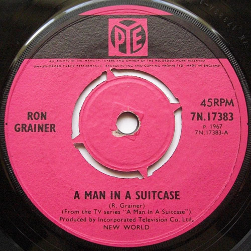 Ron Grainer - A Man In A Suitcase