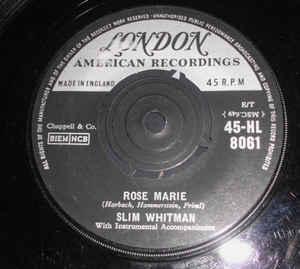Slim Whitman - Rose Marie