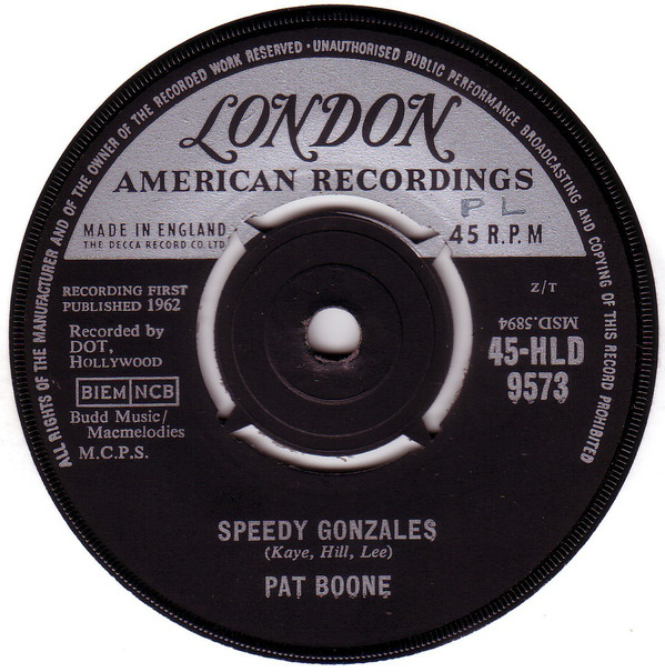 Pat Boone - Speedy Gonzales / The Locket