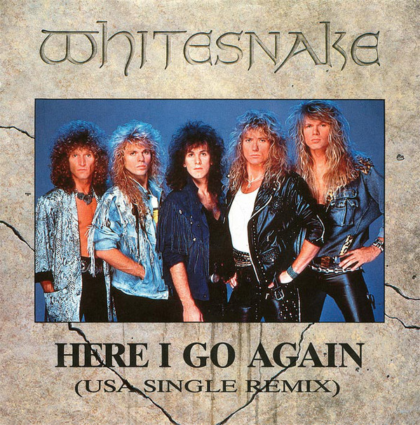 Whitesnake - Here I Go Again (USA Single Remix)