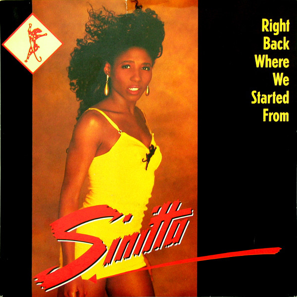 Sinitta - Right Back Where We Started From