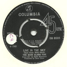 The Dave Clark Five - Live In The Sky