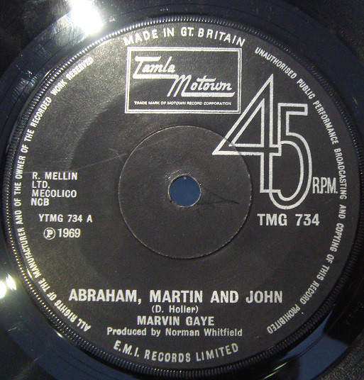 Marvin Gaye - Abraham, Martin And John