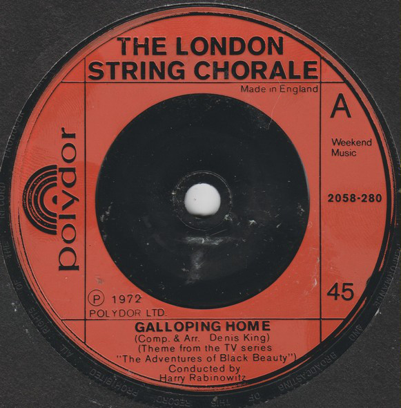The London String Chorale - Galloping Home