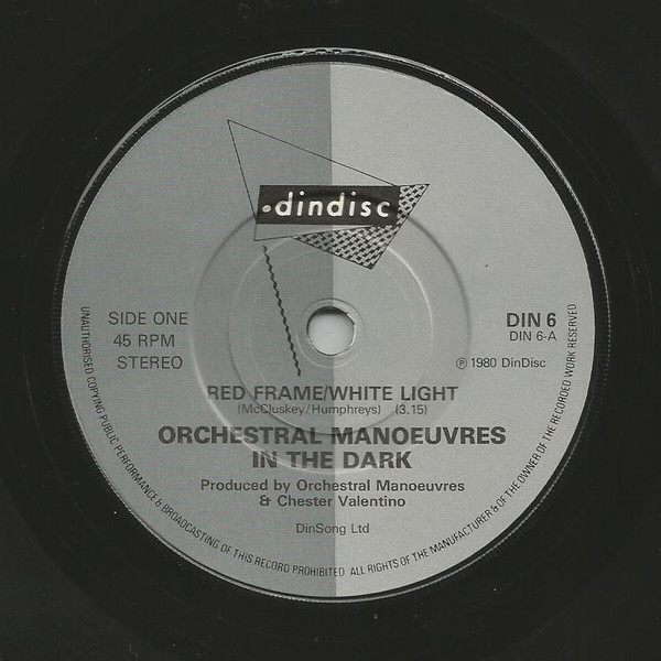 Orchestral Manoeuvres In The Dark - Red Frame/White Light