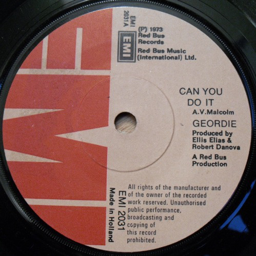 Geordie - Can You Do It