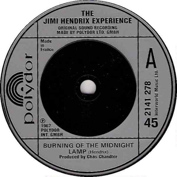 The Jimi Hendrix Experience - Burning Of The Midnight Lamp
