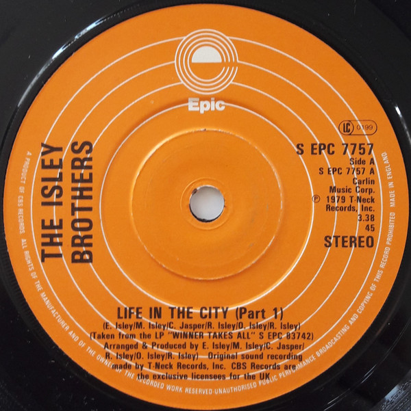 The Isley Brothers - Life In The City