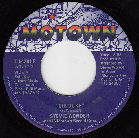 Stevie Wonder - Sir Duke