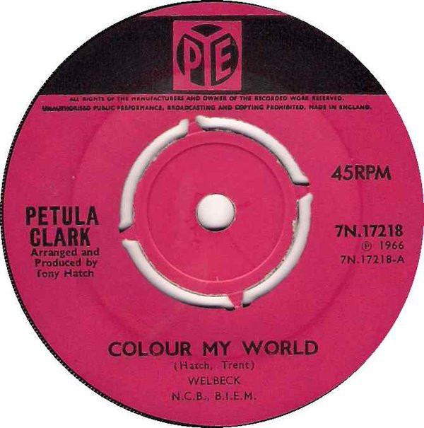 Petula Clark - Colour My World