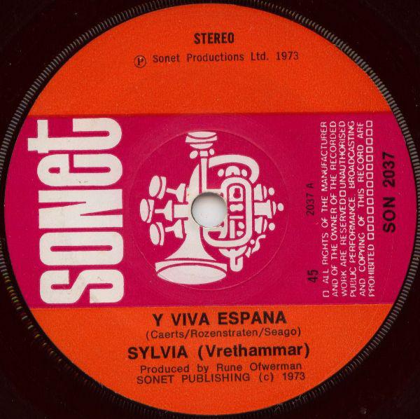 Sylvia (Vrethammar) - Y Viva Espana