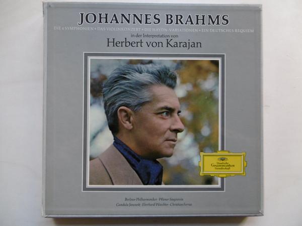 Brahms - Von Karajan / Berliner Phil / Singverein - Die 4 Symphonien ? Das Violinkonzert ?