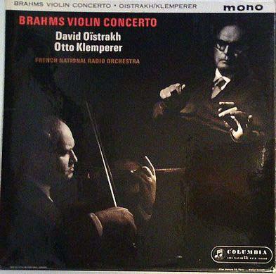 Brahms - David O?strakh, Otto Klemperer - Violin Concerto