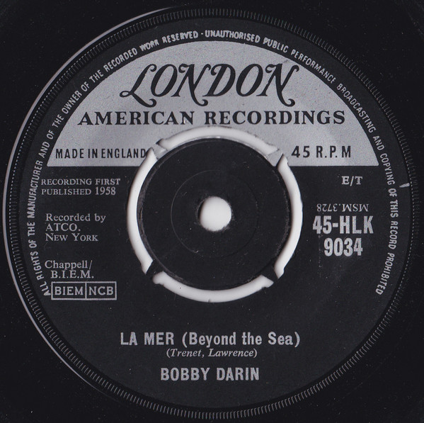 Bobby Darin - La Mer (Beyond The Sea)