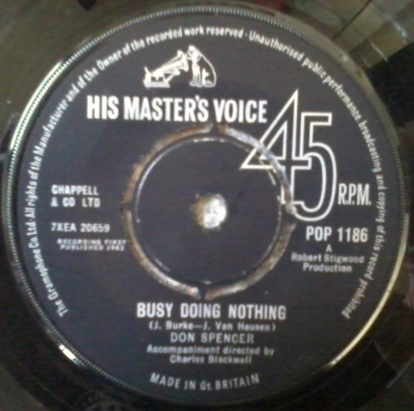 Don Spencer - Busy Doing Nothing