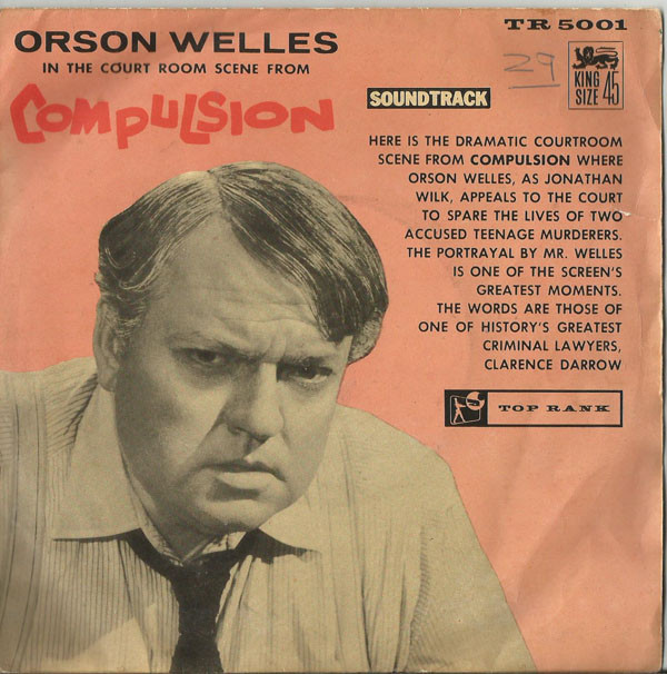Orson Welles - Courtroom Scene From Compulsion
