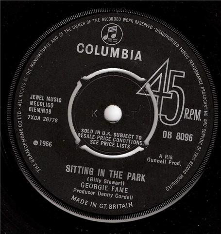 Georgie Fame - Sitting In The Park