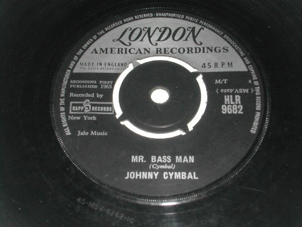 Johnny Cymbal - Mr. Bass Man