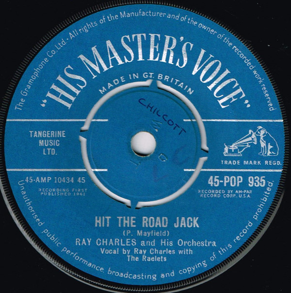 Ray Charles And His Orchestra - Hit The Road Jack / The Danger Zone