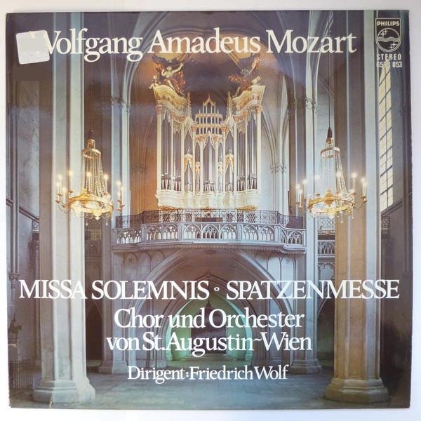 Mozart, Chor Von St. Augustin, Wien, Orchester - Missa Solemnis / Spatzenmesse