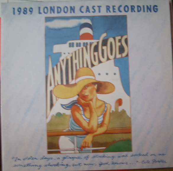 Anything Goes: 1989 London Cast Recording - Anything Goes: 1989 London Cast Recording