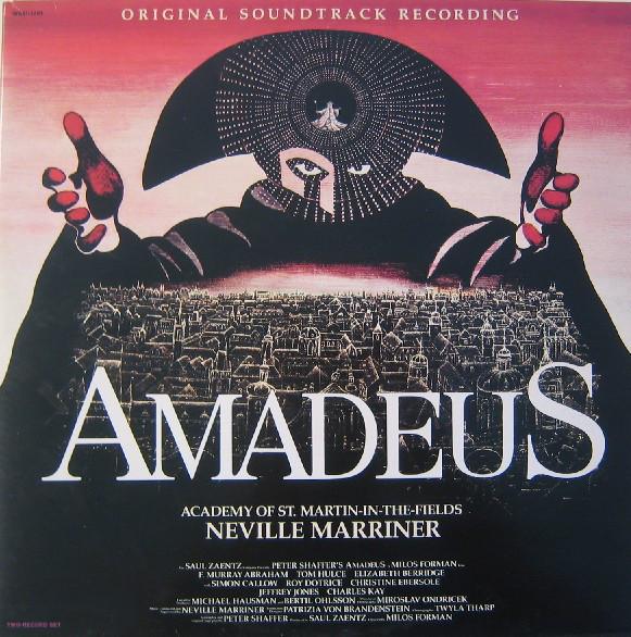 Neville Marriner -Academy St. Martin-in-the-Fields - Amadeus (Original Soundtrack Recording)
