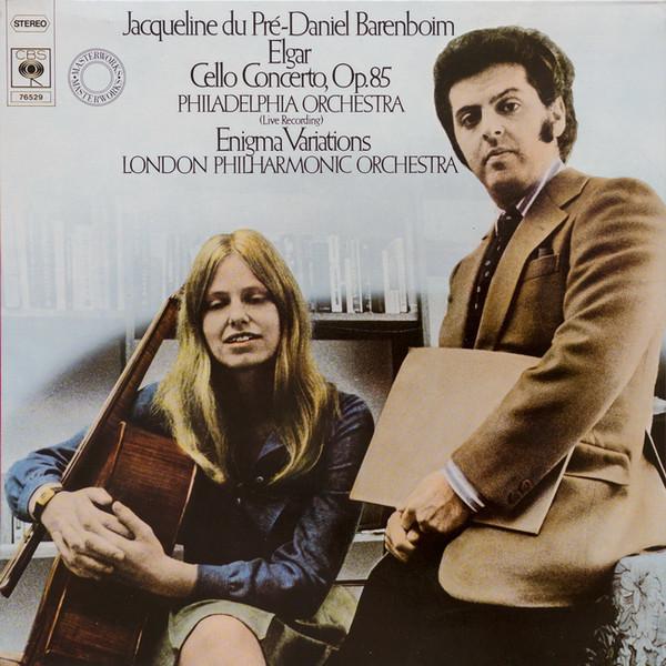 Elgar, Jacqueline Du Pr?, Daniel Barenboim - Cello Concerto, Op. 85 / Enigma