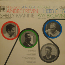 Andr? Previn / Herb Ellis / Shelly Manne - 4 To Go!
