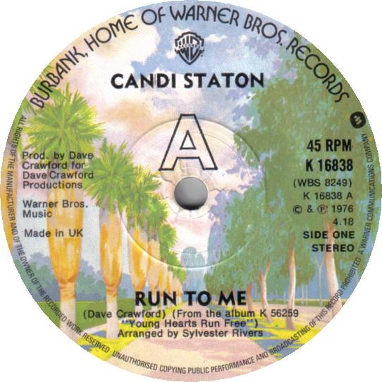 Candi Staton - Run To Me