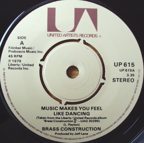 Brass Construction - Music Makes You Feel Like Dancing