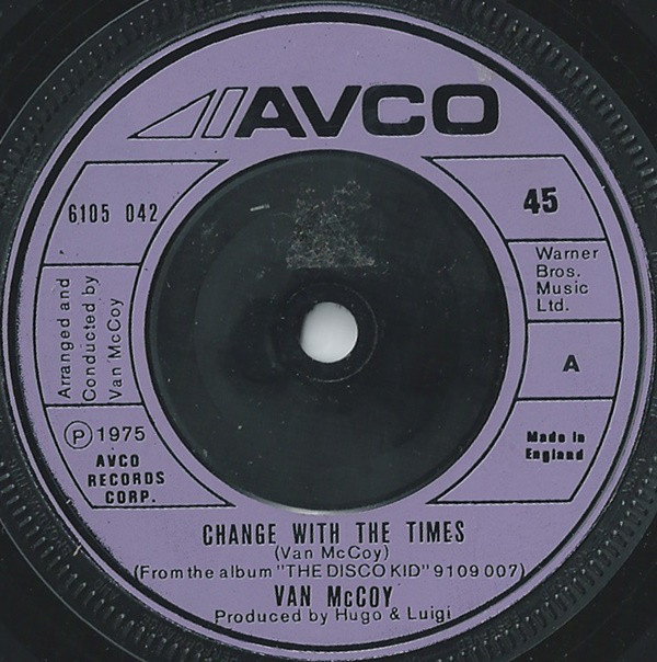 Van McCoy - Change With The Times