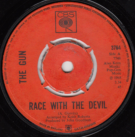 The Gun - Race With The Devil