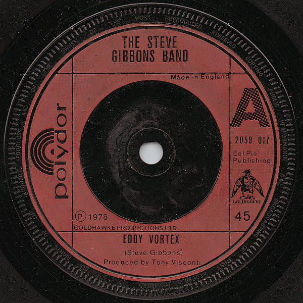 The Steve Gibbons Band - Eddy Vortex