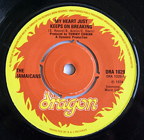 The Jamaicans - My Heart Just Keeps On Breaking