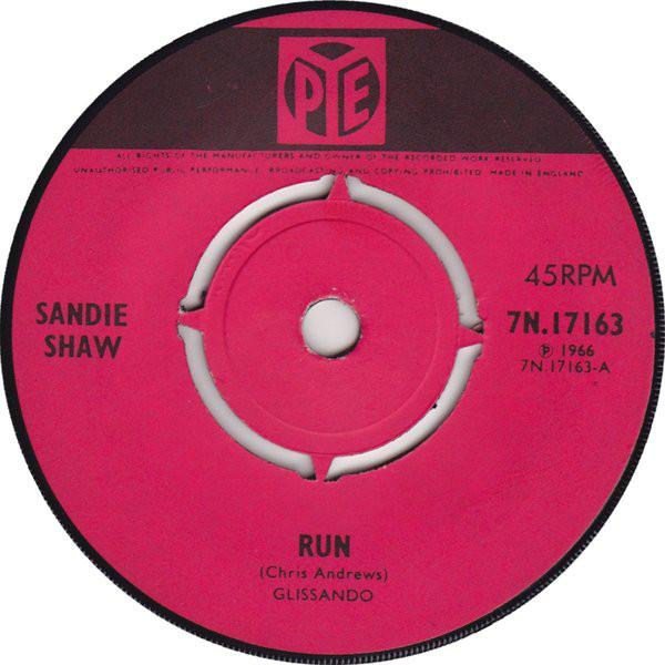 Sandie Shaw - Run