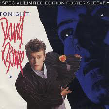 David Bowie - Tonight (Poster Sleeve)