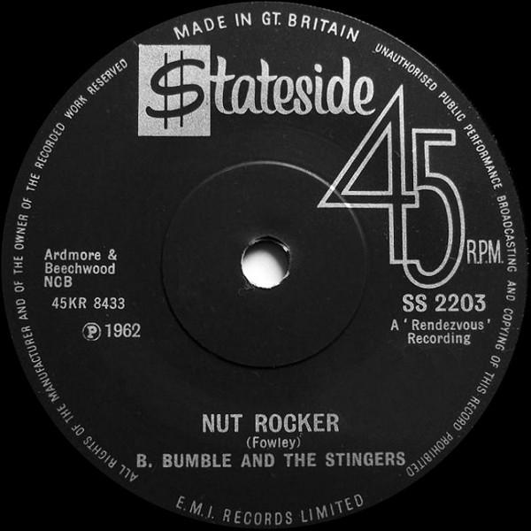 B. Bumble And The Stingers - Nut Rocker