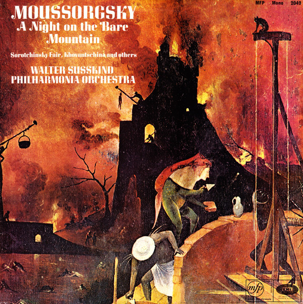 Moussorgsky - Walter Susskind, Philharmonia Orch. - A Night On The Bare Mountain