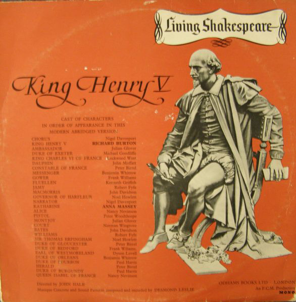 Shakespeare - King Henry V
