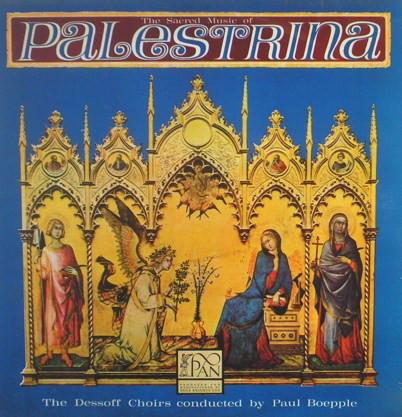 Palestrina, The Dessoff Choirs, Paul Boepple - The Sacred Music Of Palestrina