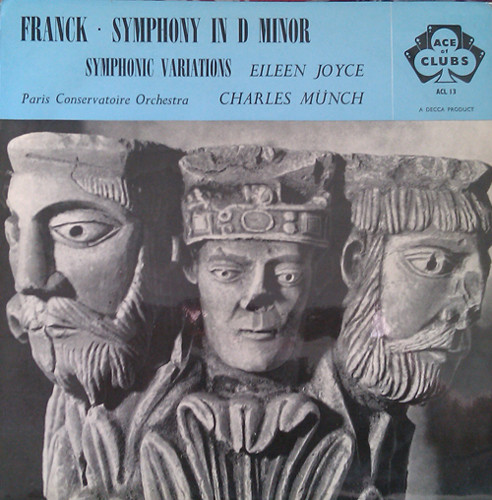 Franck, Paris Conservatoire Orch.,  M?nch - Symphony In D Minor - Symphonic Variations