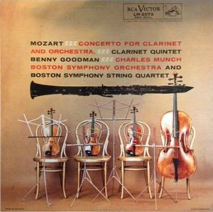 Mozart - Benny Goodman - Mozart - Concerto For Clarinet And Orchestra