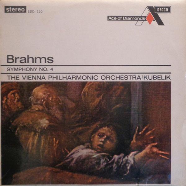 Brahms - The Vienna Philharmonic Orch., Kubelik - Symphony No. 4
