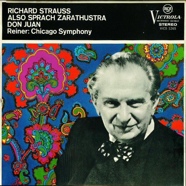 Richard Strauss, Reiner, Chicago Symphony - Also Sprach Zarathustra, Don Juan